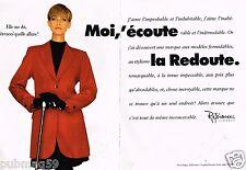Publicité advertising 1991 (2 pages) Pret à porter vetements La Redoute