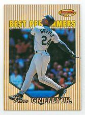 Ken Griffey Jr. #86 (1999 Bowman's Best) Best Performers, Seattle Mariners, HOF
