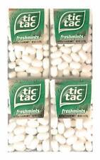 Tic Tac Freshmint White Mints   1 oz Packs   Pack of 4 Fresh Breath Control