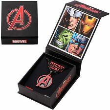 Avengers Age of Ultron Stainless Steel Pendant Necklace Marvel Comics Brand New