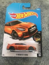 2017 Hot Wheels Nightburnerz '17 NISSAN SKYLINE GT-R R35 Combine And Save $$