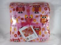 Pink & Orange Minkee Quilt Kit - Benartex - New