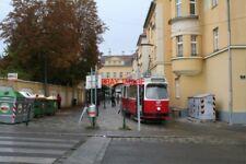 PHOTO  AUSTRIA WIEN GRINZING TRAM NO 4034