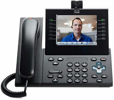Cisco CP-9971-C-CAM-K9 9900 Series Camera IP Phone Charcoal Gray