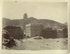 PHOTO ANCIENNE - VINTAGE SNAPSHOT - MAGHREB MAROC KASBA ET MOSQUÉE 1911