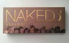 AUTHENTIC URBAN DECAY NAKED 3 EYE SHADOW  PALETTE  BRAND NEW IN BOX