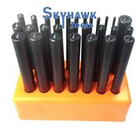 28-pc. CENTER PUNCH Set Steel Transfer Punch Machinist Thread Tool Kit Set