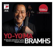 Brahms-Yo-Yo Ma Radio classique Isaac Stern Emanuel Ax Claudio credesse 3cd OVP