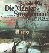 Tschaikowsky - Die Meister Symphonie Roshdestwenskij Rundfunk-Sinfonieorchester