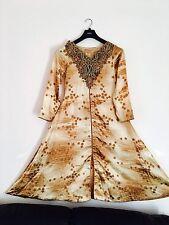 Pakistani/Indian 3piece Stitched Chiffon SilkWedding/Party/prom/bridesmaid/ball