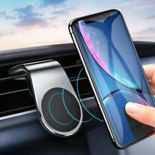 Car Phone Holder Magnetic Air Vent Clip Metal Magnet iPhone Samsung Mobile Mount