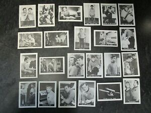 1967 Leaf Star Trek Lot of 23 Different Cards - P-VG - Partial Set