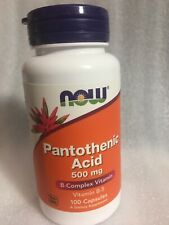 NOW Foods - Pantothenic Acid 500 mg 100 Caps