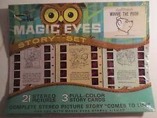 Sawyer Tru-Vue Magic Eyes Disney Winnie The Pooh Story Set MOC
