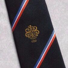Beamish & CRAWFORD Tie Club logo aziendale Cork in Irlanda retrò Vintage Blu Scuro 1980s