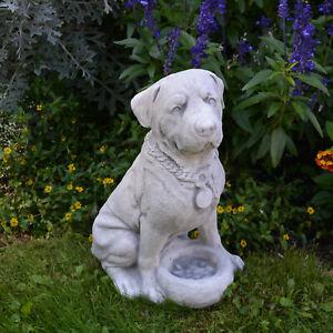 Massive Steinfigur großer Rottweiler Hund Tierfigur aus Steinguss frostfest