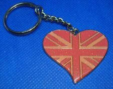 "1.5"" x 1.75"" Very CuTe Collectible Lovers PINK HEART Key Chain  Key Ring"
