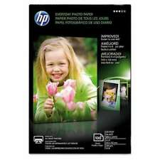 """Hp Everyday Photo Paper Glossy 4"""" X 6"""" 100 Sheets"""