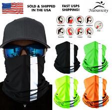 Reflective Face Balaclava Scarf Neck Fishing Shield Sun Gaiter Headwear Mask
