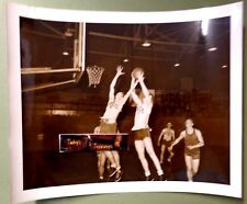 1944 WW2 US COAST GUARD BASKETBALL GAME PLAYER SEATTLE vs PORTLAND VINTAGE PHOTO