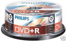 Philips DVD+R 4.7 GB, 16x Speed, Spindel 25 Stück