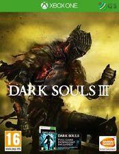 Dark Souls III 3 Xbox One * NEW SEALED PAL * + Dark Souls One DL