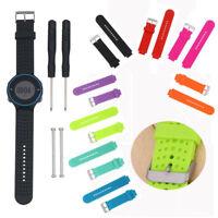 Sport Watch Band Strap W/Pins For Garmin Forerunner 220 230 235 620 630 735XT HI