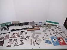 Mixed Lot Train Parts & Scene Items- Bridge- Rail Line