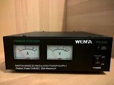 DC POWER SUPPLY UNIT (PSU),12V/13.8V/25A FOR HAM/CB RADIO/BASE STATION,110V AC