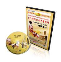 Traditional Shaolin Kungfu Series - Shao Lin Basic Skills by Shi Deyang DVD