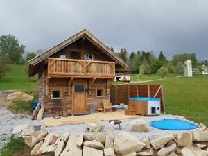 Berghütte Bayr. Wald, Almhütte, Ferienhaus, Selbstversorgerhaus, Chalet