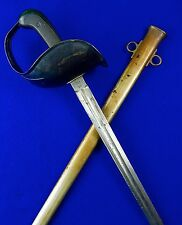 US WW1 1913 SA Springfield Armory Patton Sword w/ Scabbard