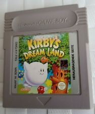 Original Gameboy Video Game: Kirby's Dream Land