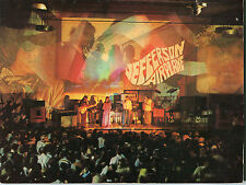 1967 Jefferson Airplane Concert Program Surrealistic Pillow Tour White Rabbit