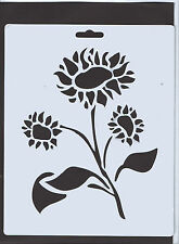 Plastic/PVC/Coated/Paper/Stencil/Sun/Flower/Floral/Aster/Design/NEW