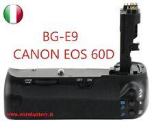 Battery Grip BG-E9 BGE9 per CANON EOS 60D 60 D + 2x batteria LP-E6 infochip  New