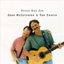 NEW Doing Our Job: John McCutcheon and Tom Chapin Live (Audio CD)