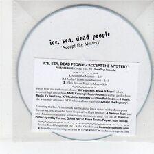 (EG194) Ice, Sea, Dead People - Accept The Mystery - 2013 DJ CD