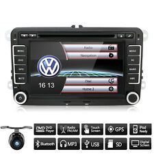"""for VW Jetta Passat 7"""" HD Touch UI Screen Mirror Car Stereo GPS DVD Player Radio"""