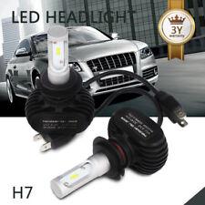 50W 8000LM H7 Nice LED Headlight Conversion Kit Single Beam White Bulbs Pair CFP