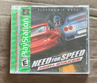 Need For Speed High Stakes Sony PlayStation 1 PS1 ~ Complete! ~ Fast Shipping!