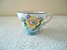 """Vintage Ceramic Small Floral Themed Tea Cup """" BEAUTIFUL COLLECTIBLE ITEM """""""