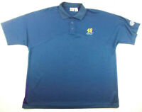 Winners Circle Jimmy Johnson #48 Lowes Racing Blue Polo Golf Shirt XL
