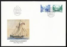 Norway 1998 Fdc Nordic Countries' Postal Co-operation - Ships