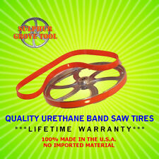 "2 Quality Urethane Band Saw Tires 10"" x 3/4"" x 3/32"" (.095"") fit DELTA & Others"