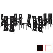5/7-tlg. Essgruppe Sitzgruppe Esstisch Küchentisch Esszimmerstühle Hochlehner