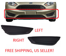 FOG LIGHT LAMP COVERS LH And RH Ford Focus 2015  2016 2017 2018 FREE SHIPPING