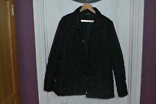 Ladies sz 18 George Black Padded Coat - #W
