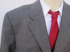 $1625 Giorgio Armani MANI Men Gray Black Herringbone Suit Sz 40 W 33 X 29.5