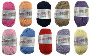 BABY MILK LAINES DU NORD KNITTING WOOL - 4PLY 25g ball